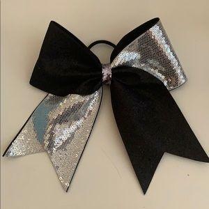 Sequin & Glitter Cheerleading Hair Bow